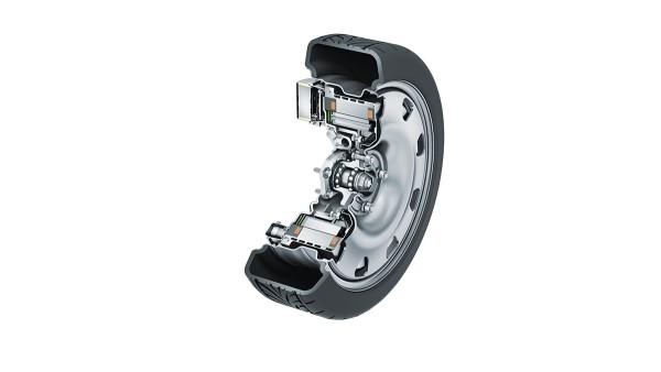 Electric wheel hub drives