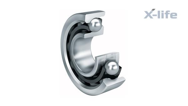 Rolling bearings and plain bearings: Angular contact ball bearings