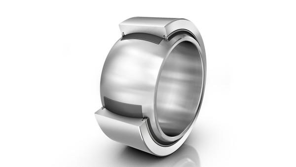 Maintenance-free spherical plain bearings