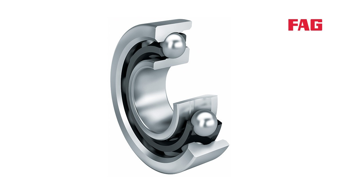 Schaeffler rolling bearings and plain bearings: Angular contact ball bearings