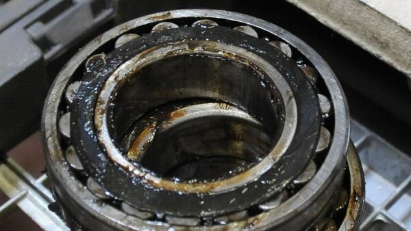 Overgreased bearings